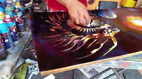 spray paint goku drag 243 n spray arte aerosol