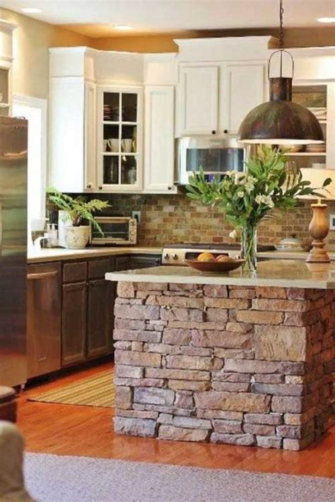 Finishing Kitchen Cabinets Ideas by Impresionantes Ideas Para Decorar La Cocina Con Piedras