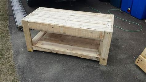 Wooden Pallet Coffee Tables Diy Wood Pallet Coffee Table