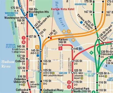 metro harlem line map find us