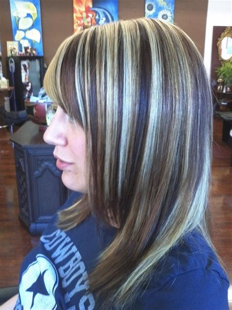 chunky blonde highlights for grey hair blonde and brown highlights bing images hair styles