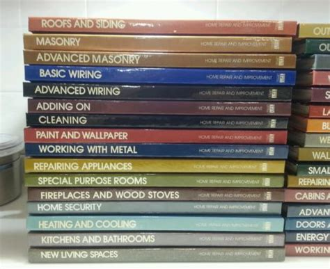 lot of 32 time home improvement diy repair books