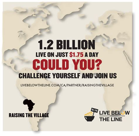 the line challenge the global poverty project live below the line challenge