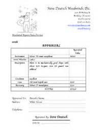 appraisal form exle