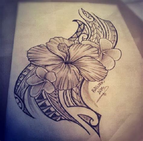tribal hibiscus flower tattoo designs best 20 hawaiian tribal tattoos ideas on