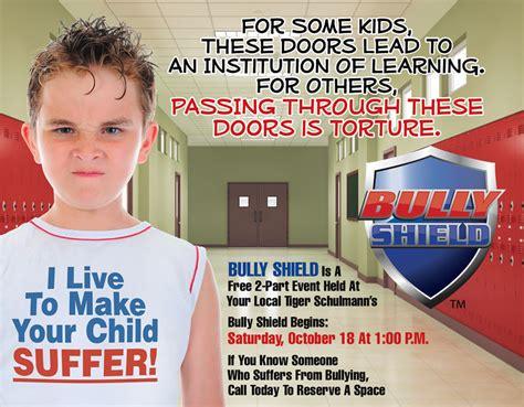 karate use bully shield to stop bullies tsk