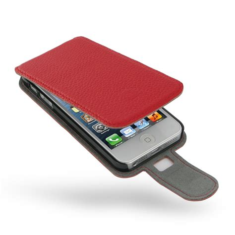 Iphone 5 5s Leather iphone 5 5s leather flip pebble leather