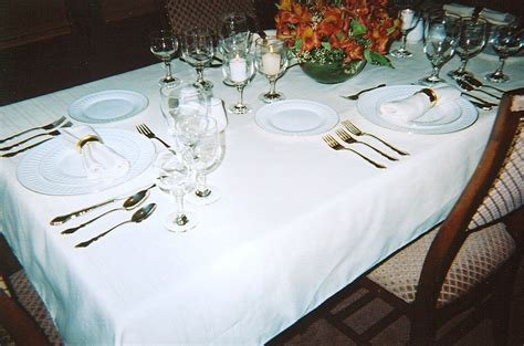 dining table dining table settings pictures