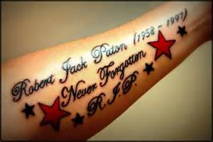 25 endearing in loving memory tattoos sloe
