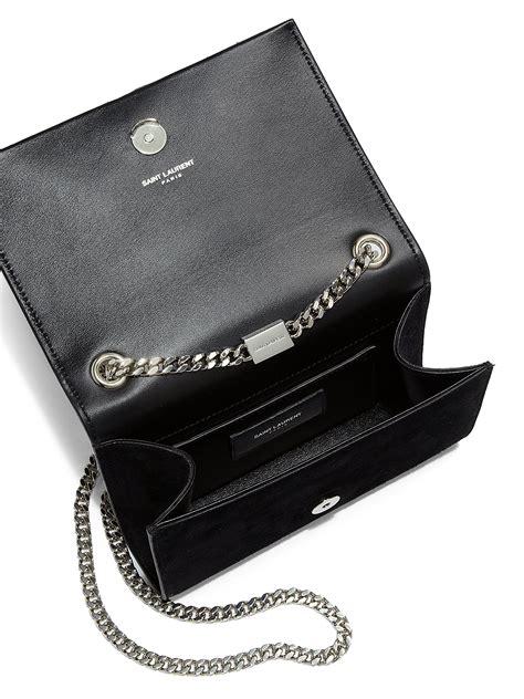 Cheap Jaket Chain Coksu yves laurent small monogramme suede chain tassel bag replica ysl muse bag