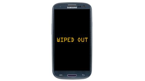 Android Device by Wipe Out Your Android Phone