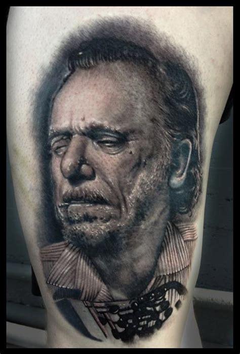 charles bukowski tattoo charles bukowski by norris tattoonow