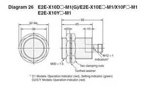 e2e x10f1 m1 standard proximity sensor omron valin