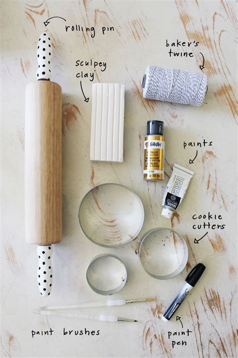baked clay homemade ornaments crafty pinterest