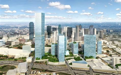smart dallas new smart district to bring towering high tech skyscrapers to dallas will