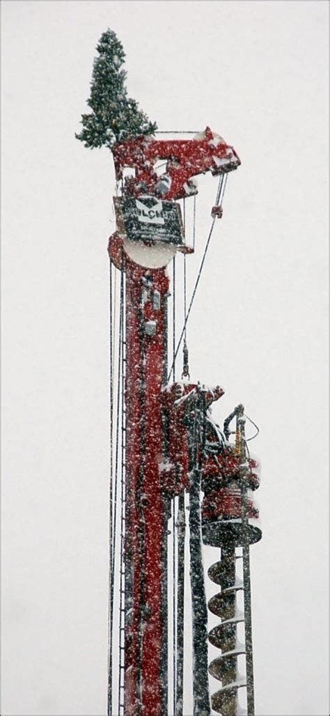 photos christmas tree on a redmond drilling rig seattle