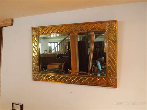 cloverleaf home interiors antiques atlas mirror arts and crafts brass glasgow
