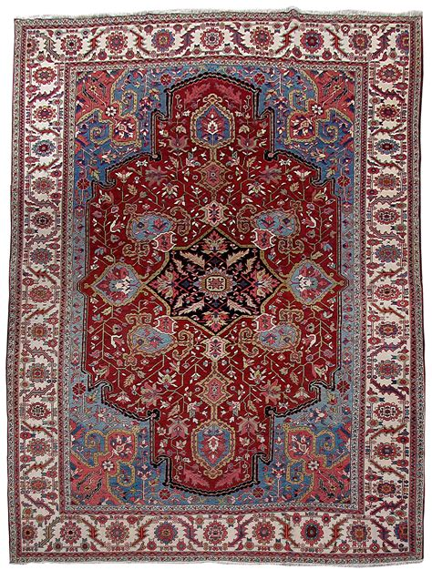 12 by 15 area rugs knotted rug 12 x 15 heriz bold patterns carpet ebay