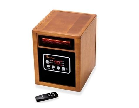Best Desk Space Heater by Infrared Portable Space Heater Dual Heat 1500w Floor