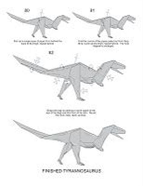 How To Make An Origami T Rex - origami on origami origami