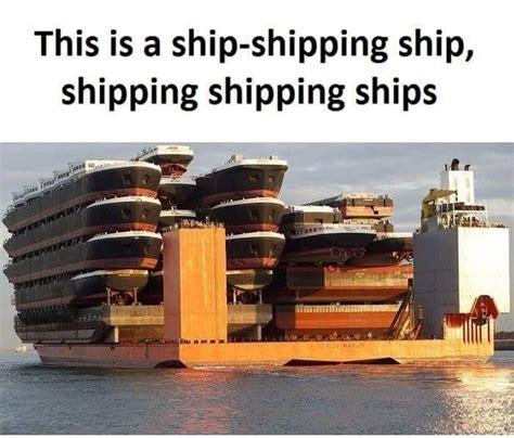 Shipping A shipping ships