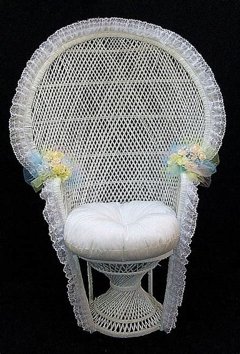 Baby Shower Wicker Chair by 21 Best Images About Wicker Chair Decoration Ideas On