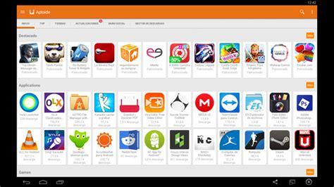 aptoide juegos gratis descargar aptoide para pc y tener todas las aplicaciones