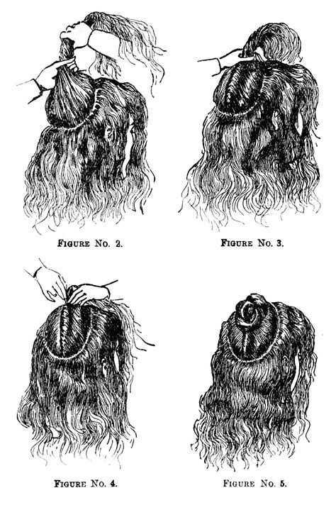 how to do victorian hairstyles for long hair vintage victorian 1890s hairstyle
