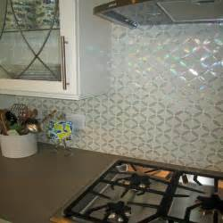 unique glass tile backsplash best home design