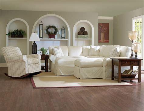 White Slipcovered Sofa by White Slipcovered Sectional Sofa Home Furniture Design