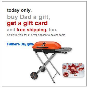 How Much Money Is On My Target Gift Card - target free target gift card and free shipping on select dad s day gifts today only
