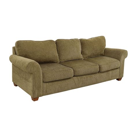 tan fabric sofa 90 off bloomingdale s bloomingdale s beige tweed fabric
