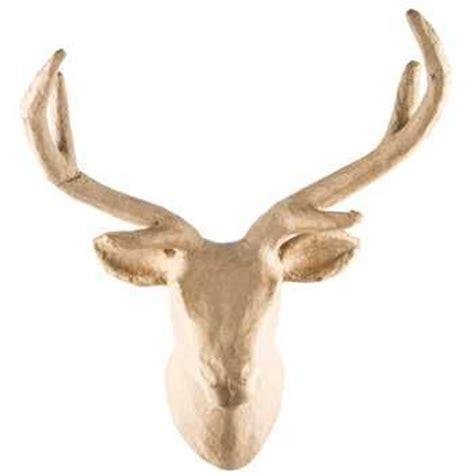 How To Make A Paper Mache Stag - 175 best images about boho chic on