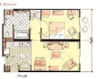 Kidani Village 2 Bedroom Villa Floor Plan Animal Kingdom Villas Jambo House And Kidani Village