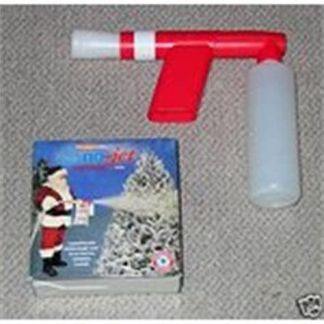 sno jet tree snow flocking gun 3 x 1 lb snow refills 12 22 2008