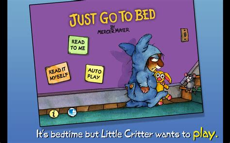 just go to bed just go to bed little critter android apps on google play