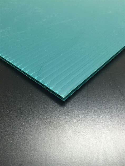 mm green    corrugated plastic coroplast sheets sign ebay