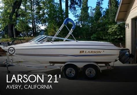 fish and ski boats for sale california larson ski fish boats for sale