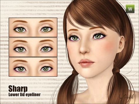eyeliner tutorial lower lid gosik s sharp lower lid eyeliner