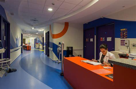 Interior Column Designs colorful hospital design gives hope commercial interior