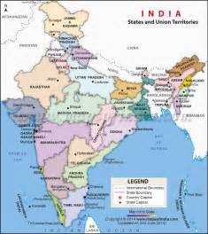 Political Map Of India by Pics Photos Indian Map Political