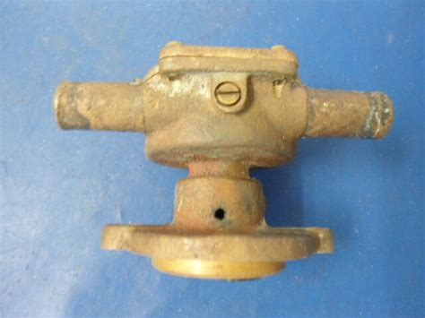 sea water pump volvo penta  cylinder early models ebay