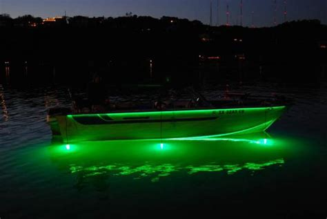 fishing lights for boats what is the best led light color to attract the fish
