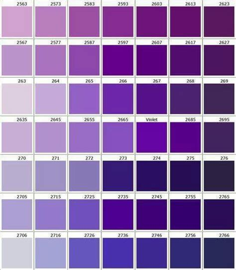 purple color names 25 best ideas about shades of purple on