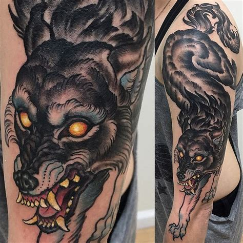 neo traditional wolf tattoo best 25 wolf traditional ideas on