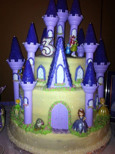 Princess Sofia Castle Cake princess sofia castle cake images