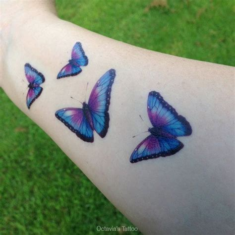purple tattoo removal butterfly temporary butterfly purple