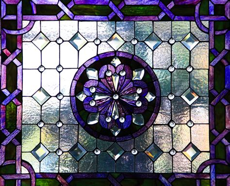 Stained Glass Purple stained glass texture stock photo purple window frosted