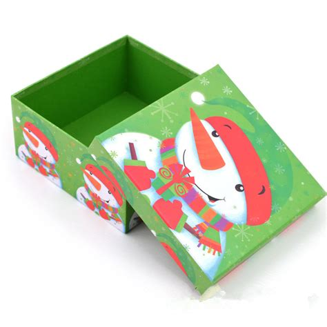 custom cardboard christmas gift box with lids buy custom