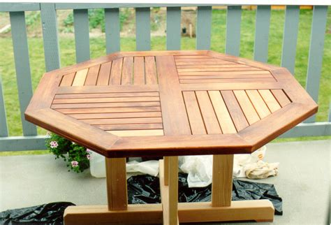Round Cedar Patio Table Plans Designer Tables Reference Cedar Patio Table